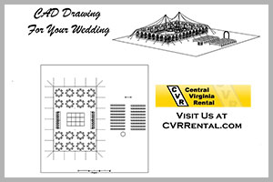 Professional special event planning services at Central Virginia Rental serving Central Virginia