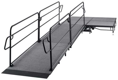 Where to find STAGE RAMP w  HANDRAIL  24 MAX in Waynesboro