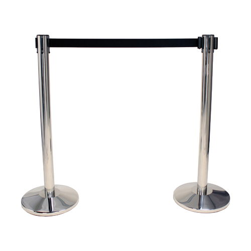 Where to find STANCHION CHROME W BLACK BELT  EACH in Waynesboro