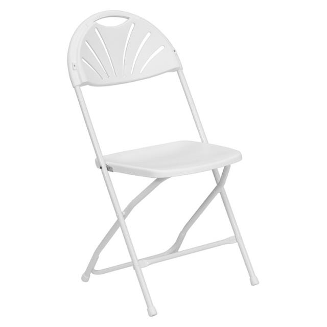 Where to find CHAIR FAN BACK WHITE in Waynesboro