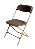 Where to rent CHAIR BROWN FOLDING in Waynesboro VA