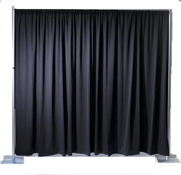 Where to find PIPE   DRAPE 8  HIGH   PER FT in Waynesboro