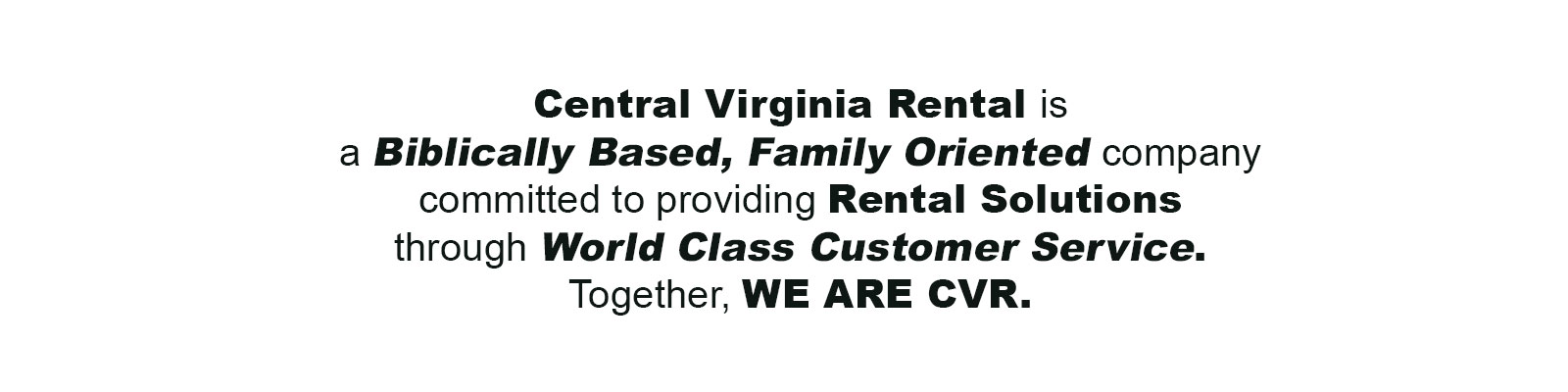 Party rentals in Central Virginia